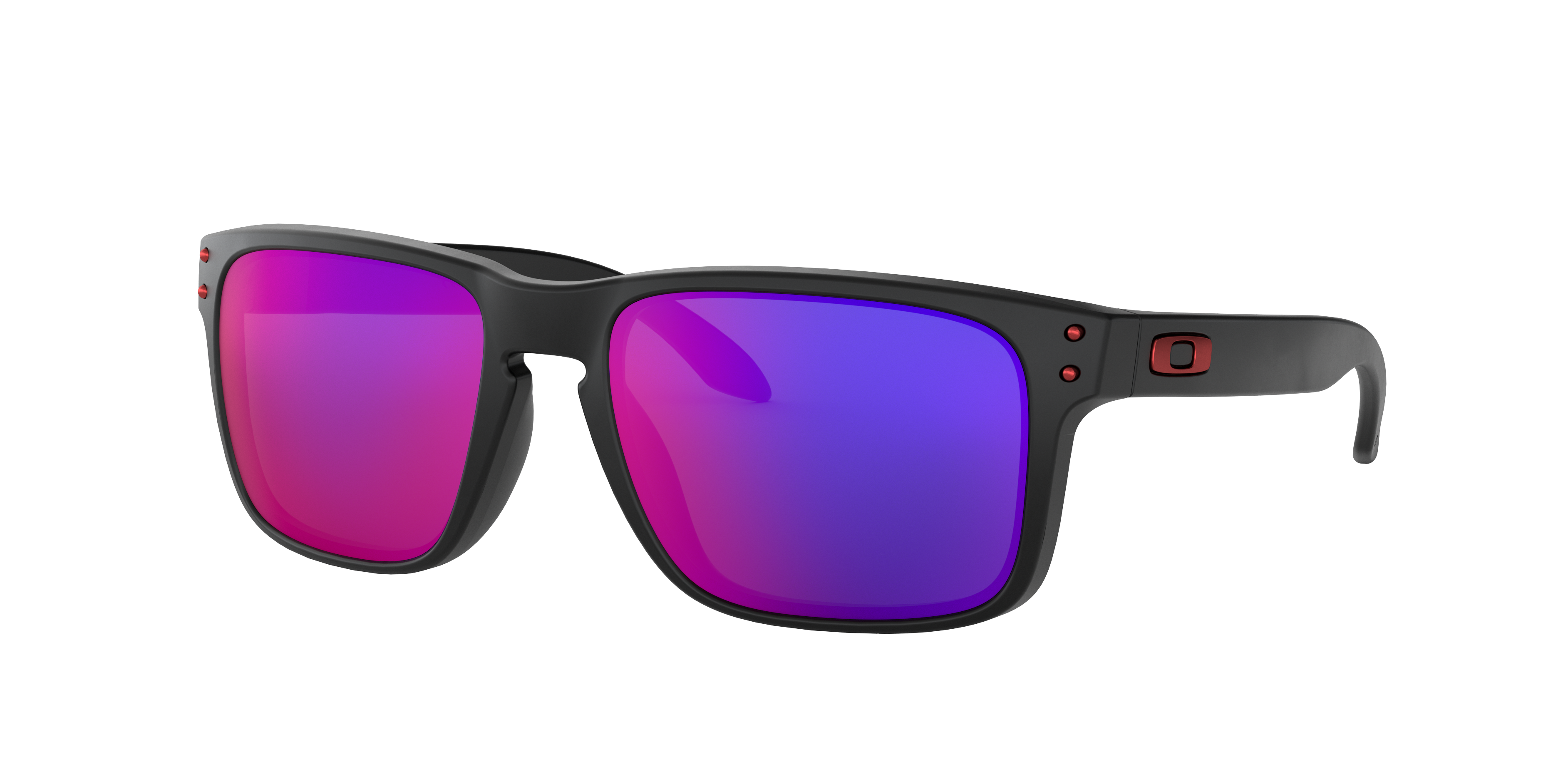 OAKLEY OCCHIALE HOLBROOk (matte black/Positive Red Iridi) - 2021