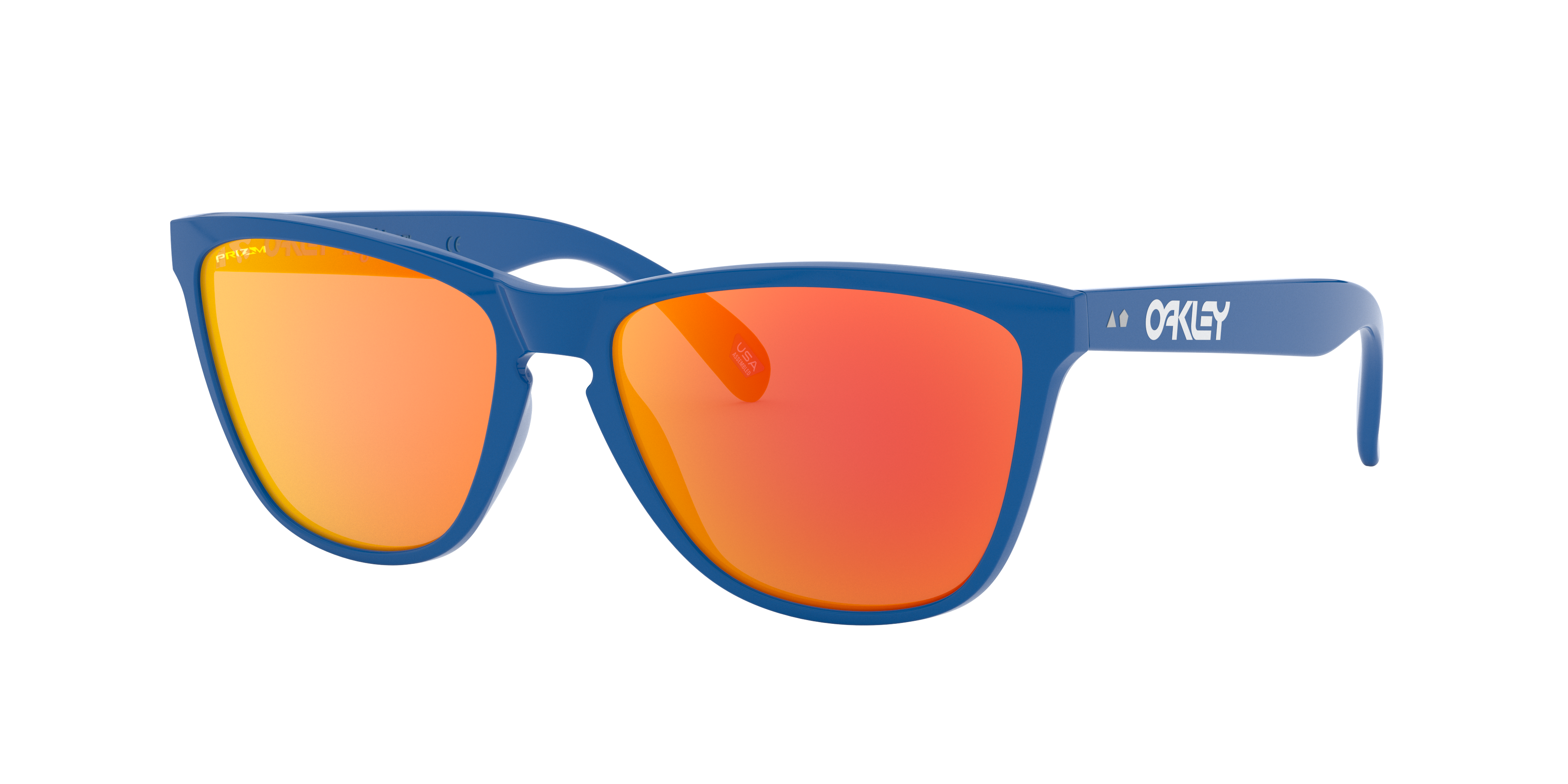 OAKLEY OCCHIALE FROGSKINS 35 TH (primary blue/prizm rub) - 2021