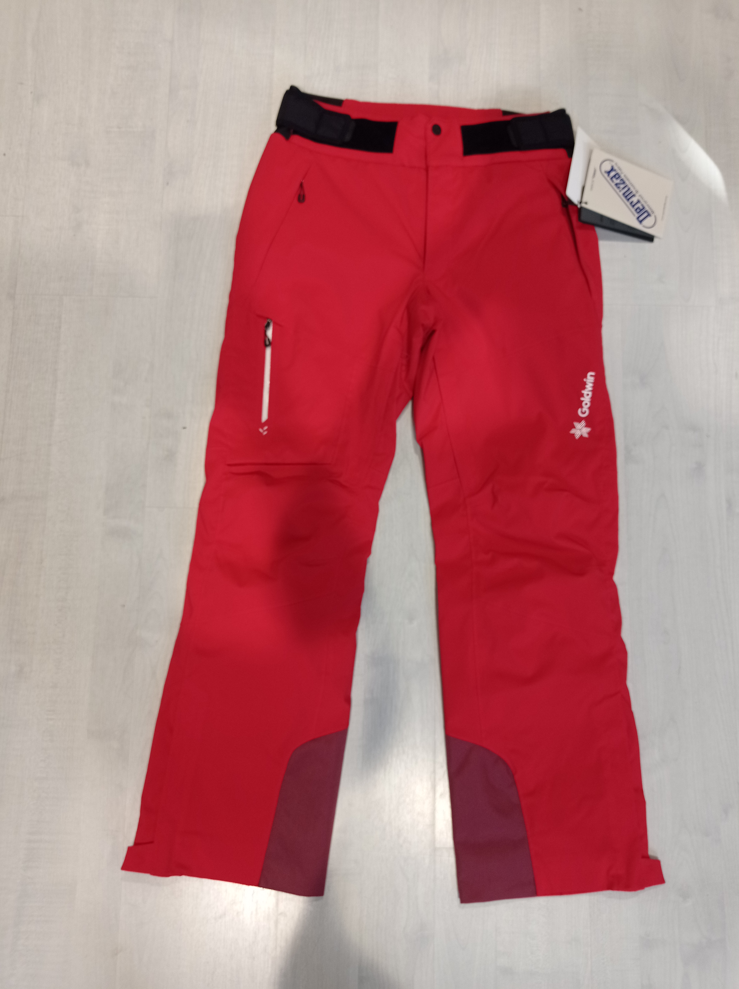 GOLDWIN MEN KRATOS PANTS - FIRE RED - 2021