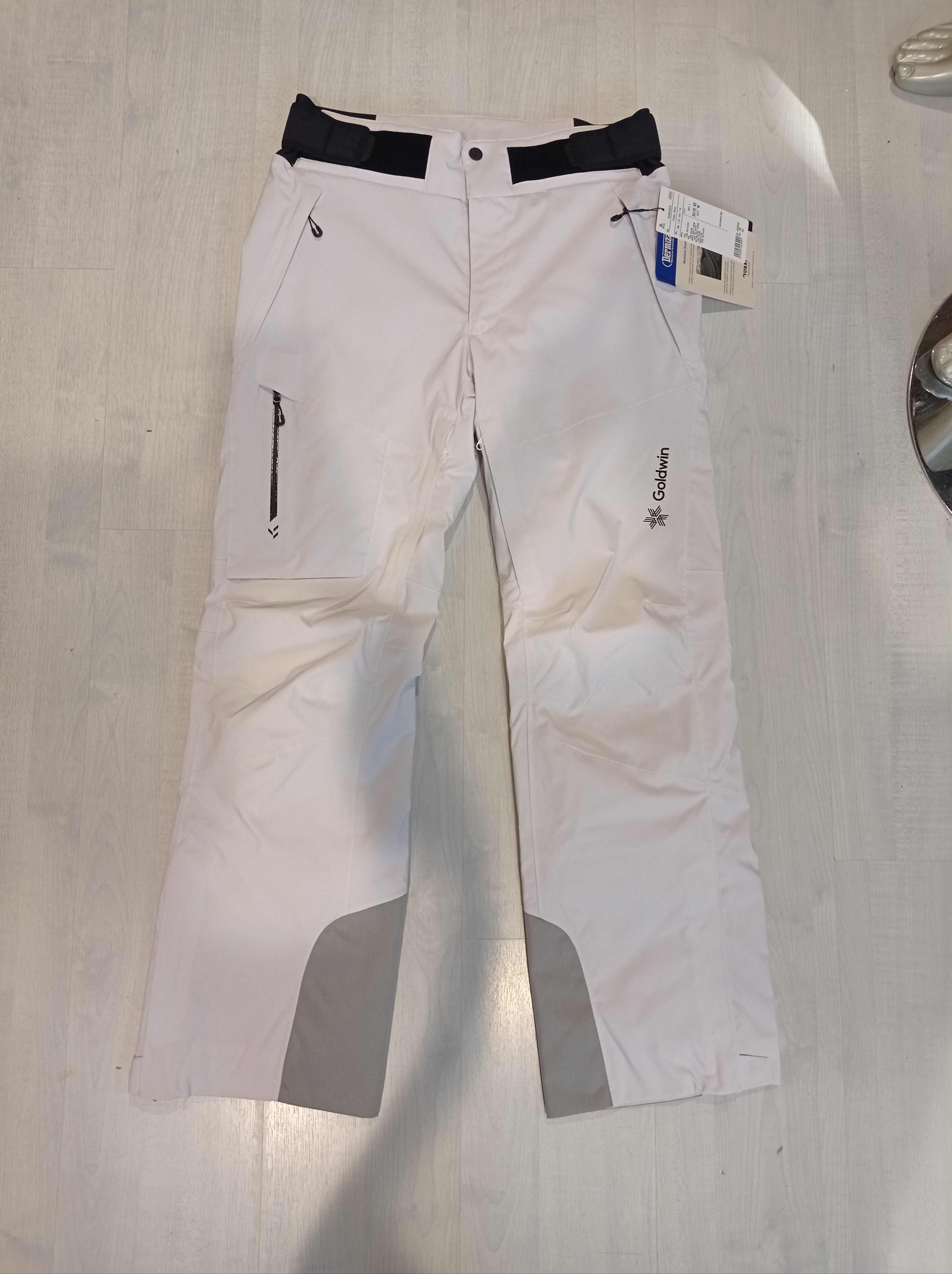 GOLDWIN MEN KRATOS PANTS - ICE WHITE - 2021