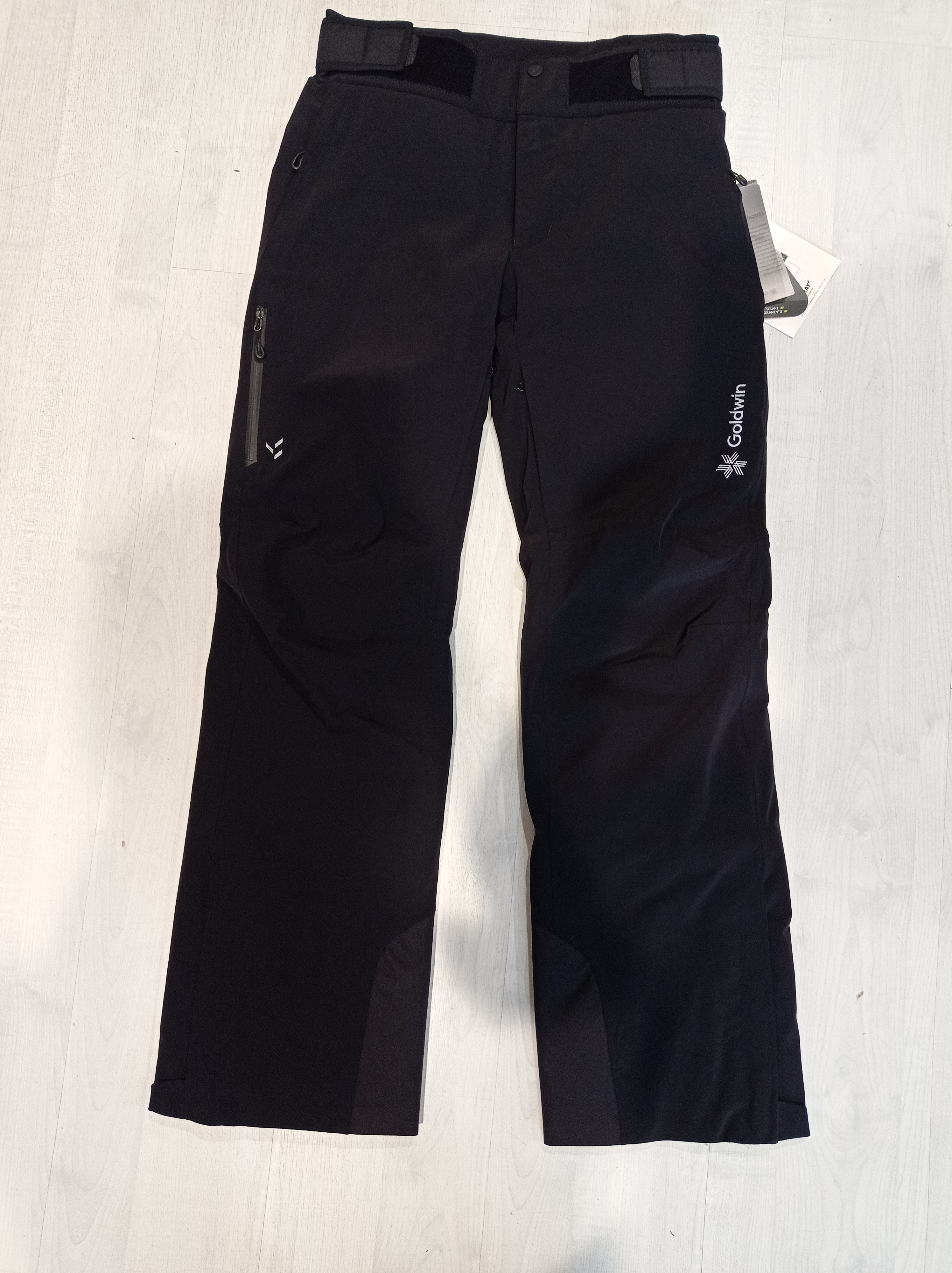 GOLDWIN PANT MEN G-BLISS - BLACK - 2021