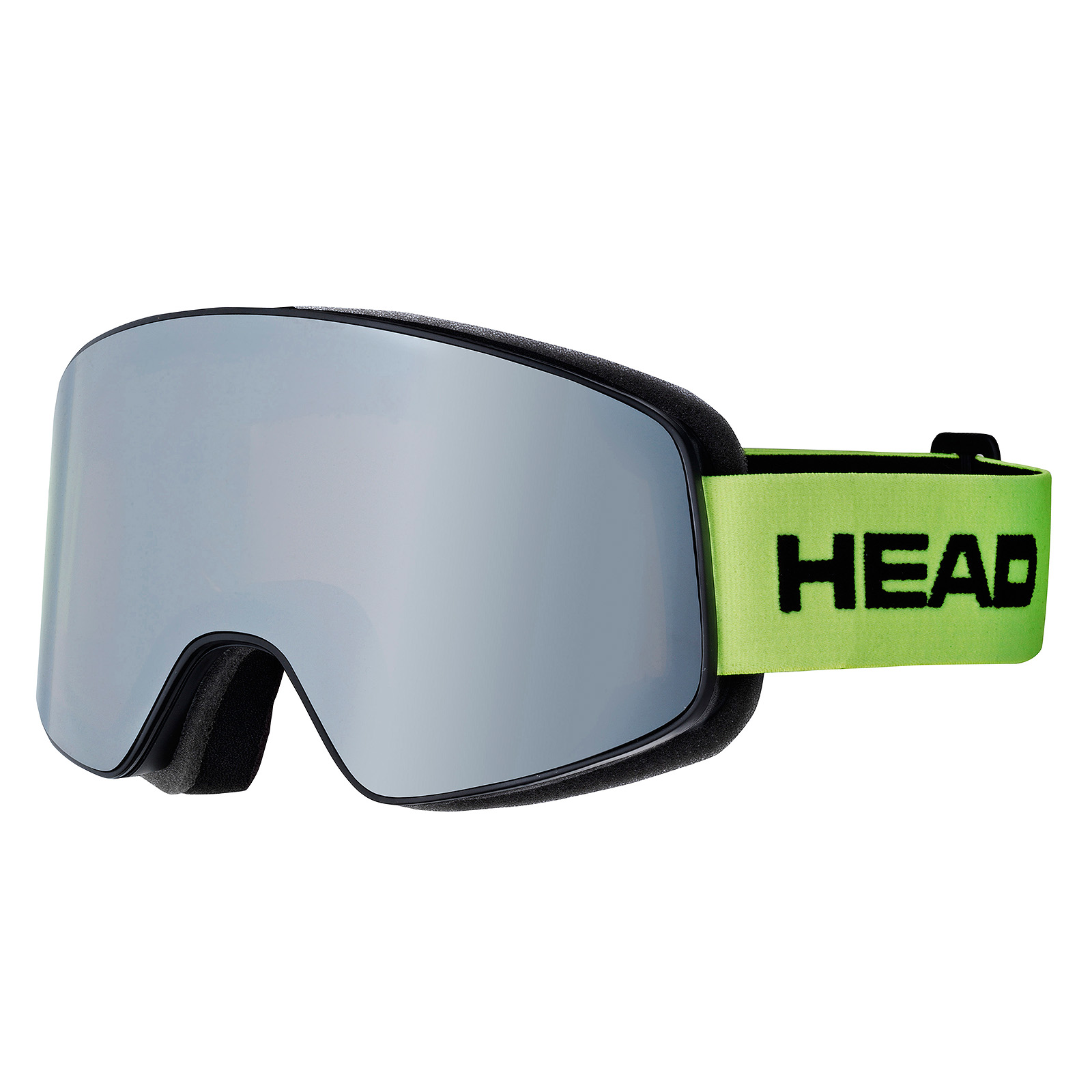 HEAD MASCHERA HORIZON RACE LIME + SPARE LENS - 2018