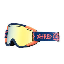 SHRED MASCHERA NASTIFY BIGSHOW NAVY/RUST-HERO CBL GRN - 2019