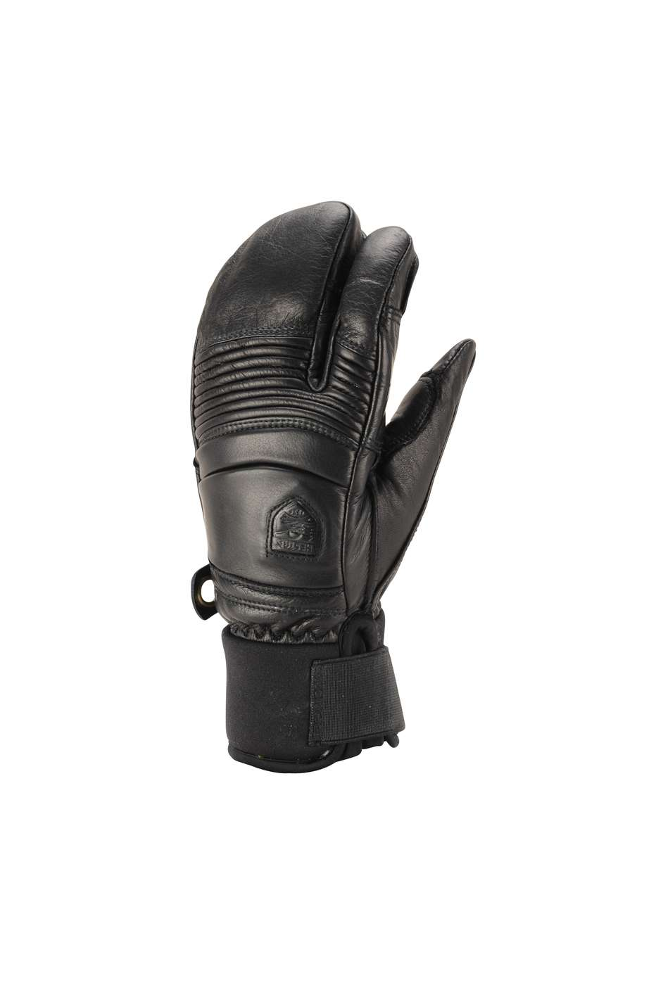 HESTRA GUANTO 31472 Leather Fall Line 3 Finger black - 2016