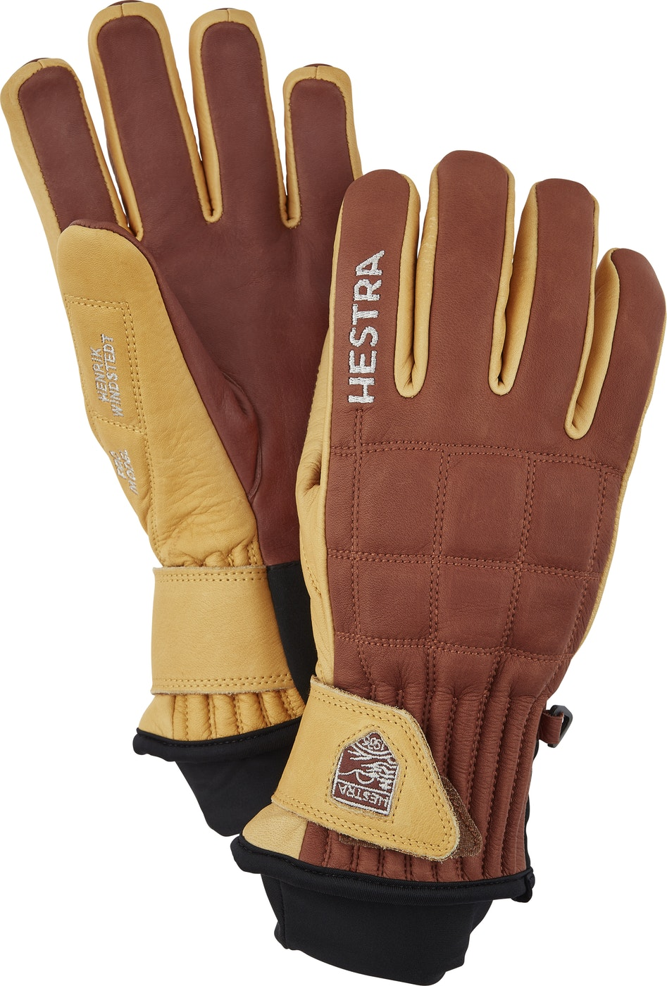 HESTRA GUANTO 30820 Henrik Leather Pro Model - (marrone) - 2020