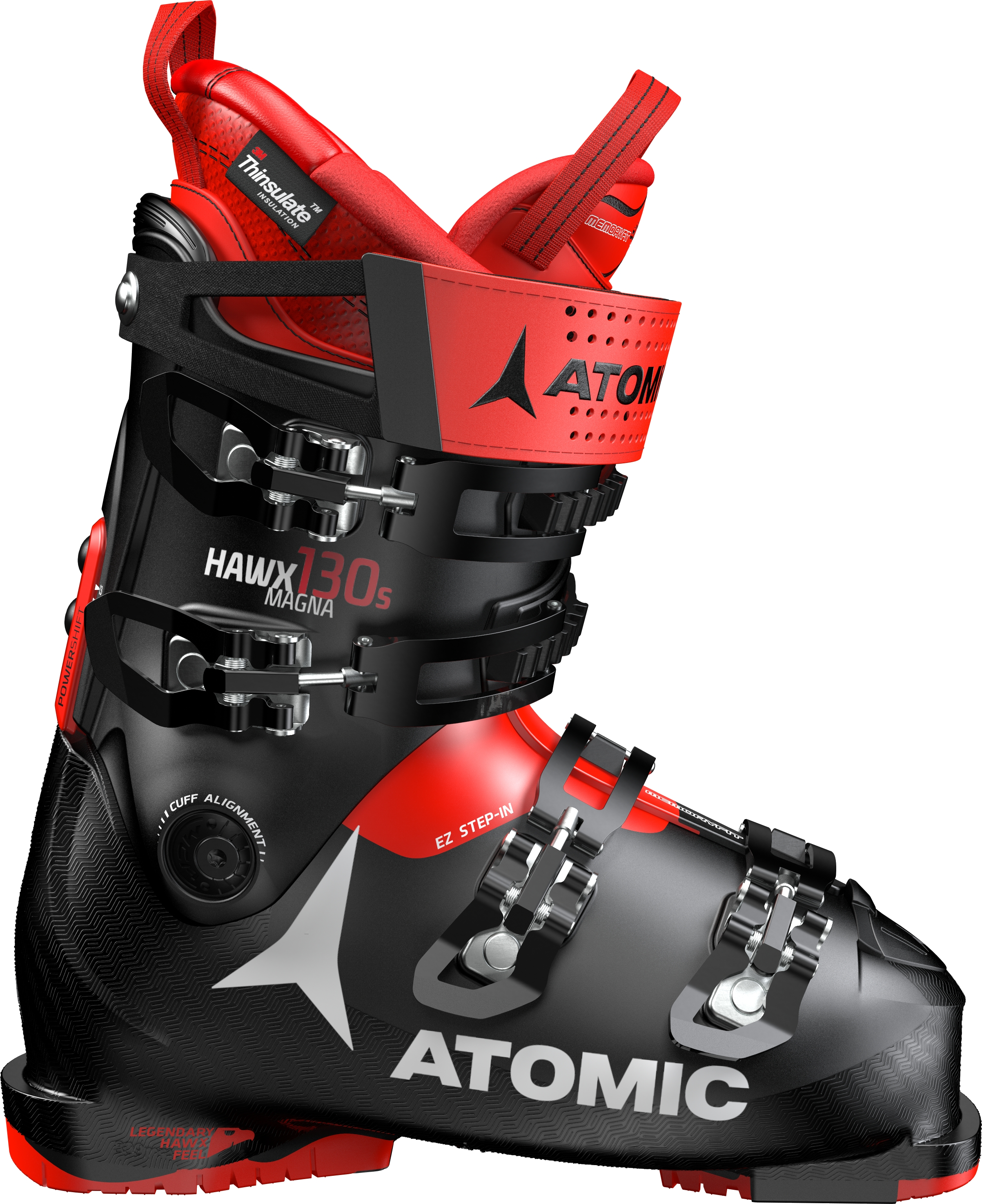 ATOMIC HAWX MAGNA 130 BLACK/red - 2020