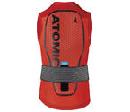 ATOMIC PROTEZIONE LIVE SHIELD Vest AMID M Red - 2021