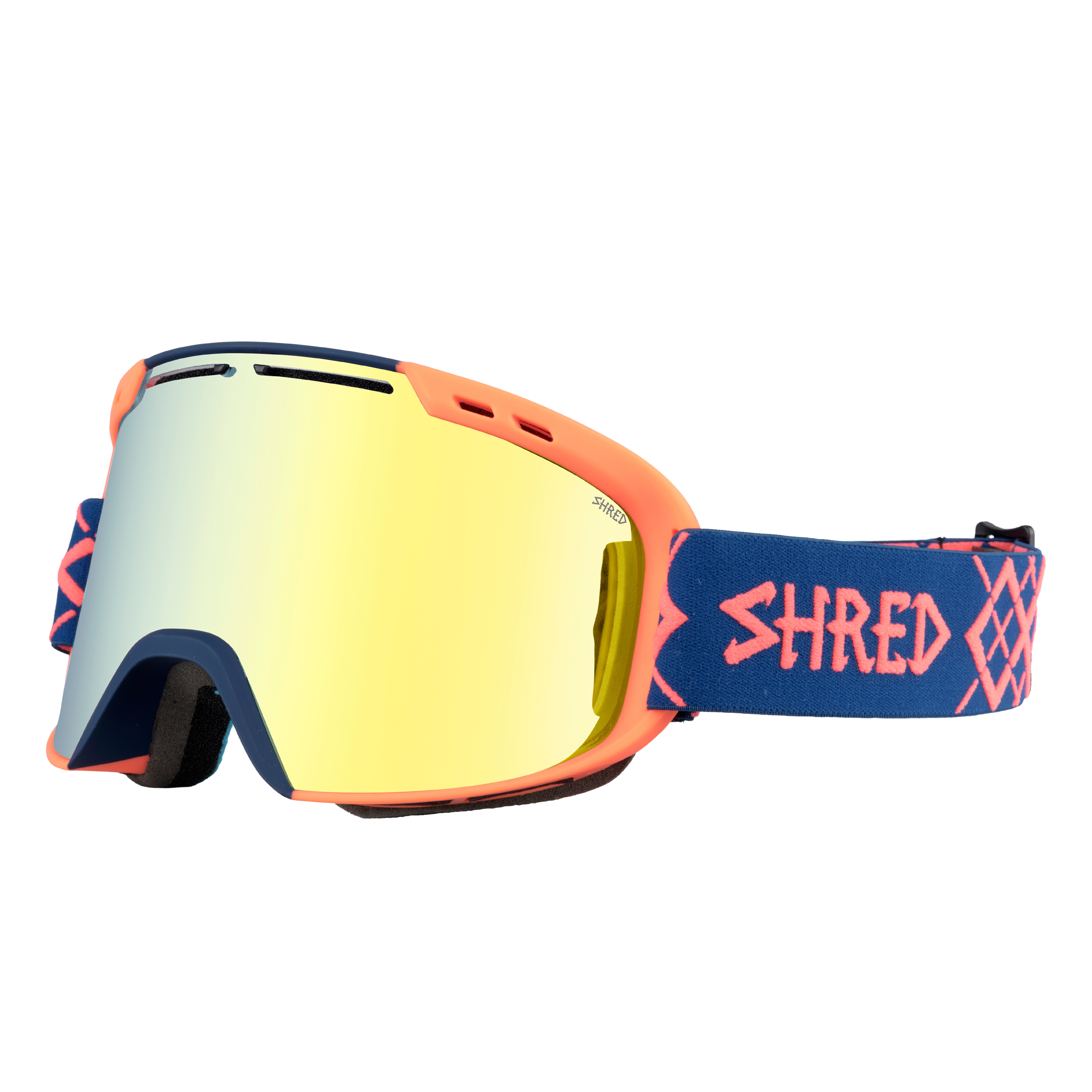 SHRED MASCHERA AMAZIFY BIGSHOW NAVY/RUST-HERO CBL GRN AMA - 2019