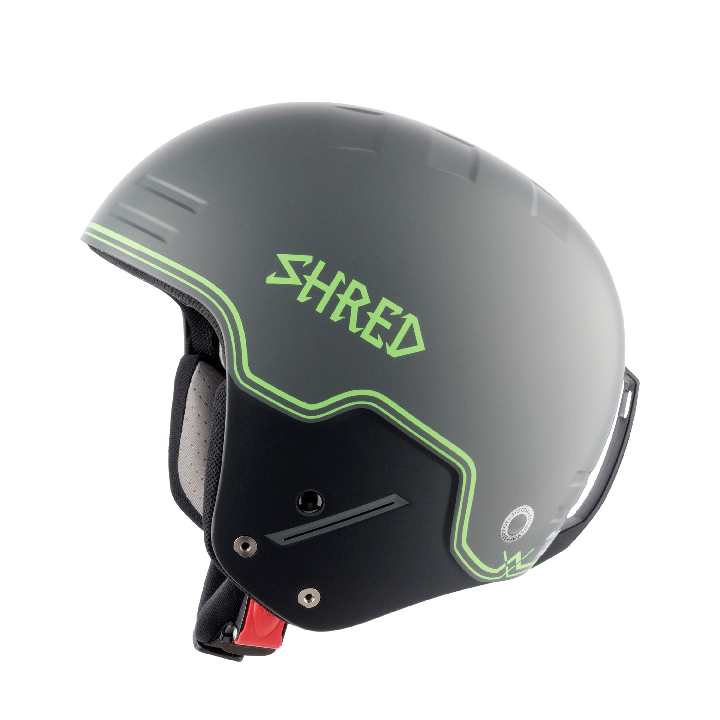 SHRED CASCO BASHER NOSHOCK BIGSHOW GREY-GRN - 2019