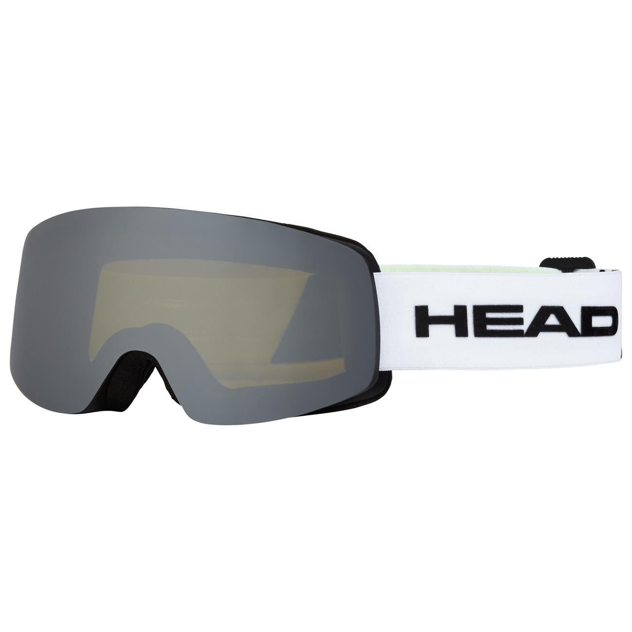 HEAD MASCHERA INFINITY RACE WHITE/LIME+SpareLens - 2019