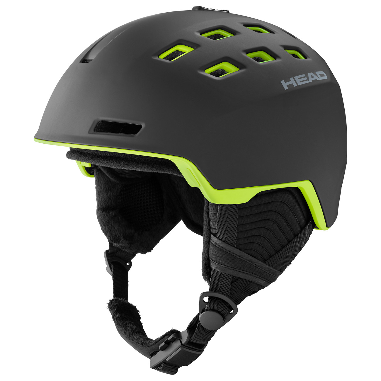 HEAD CASCO REV black/lime - 2021