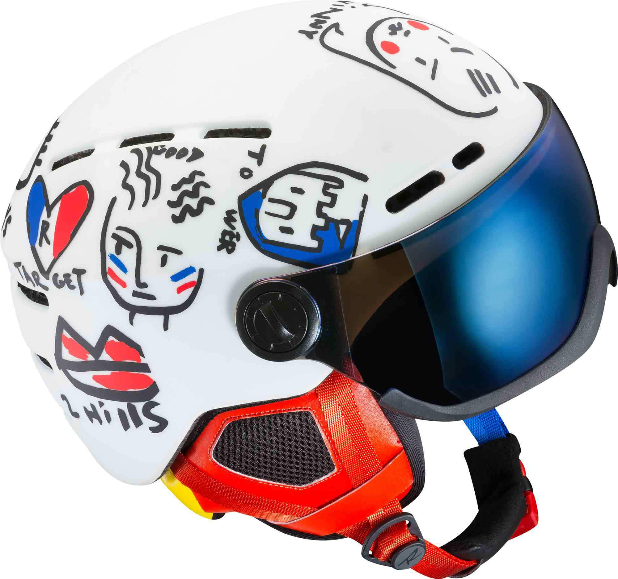 ROSSIGNOL CASCO JCC VISOR - SINGLE LENSE - 2018