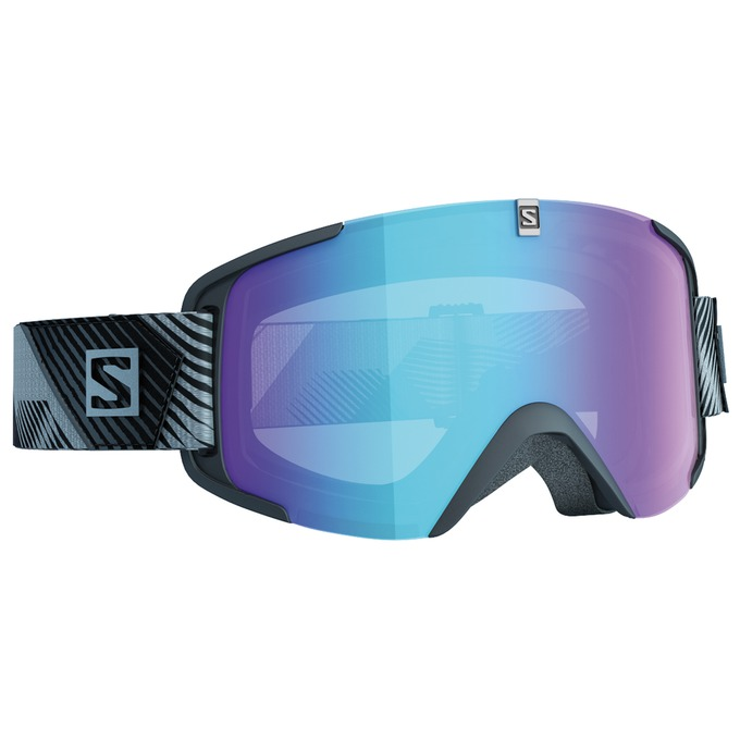 SALOMON MASCHERA XVIEW PHOTO (BLK-BLUE) - 2018
