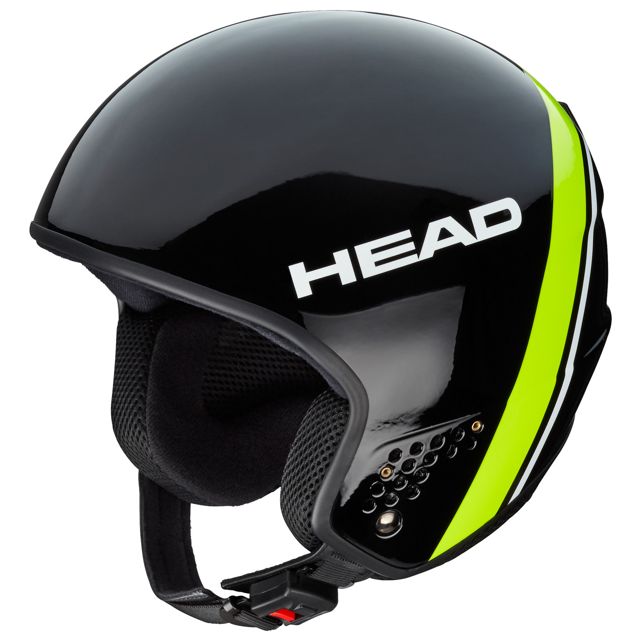 HEAD CASCO STIVOT RACE CARBON BLACK/LIME - 2019