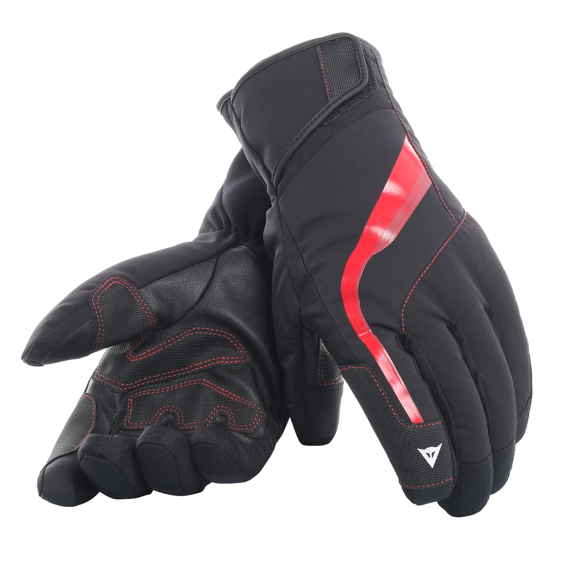 DAINESE HP2 GLOVES - ( Y82 STRETCH LIMO/CHILI PEPPER) - 2019