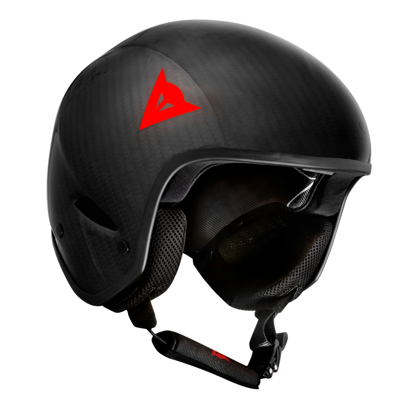 DAINESE CASCO GT CARBON WC HELMET W33 CARBON/RED-LOGO - 2018