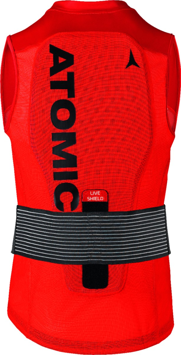 ATOMIC LIVE SHIELD Vest AMID M Red - 2020