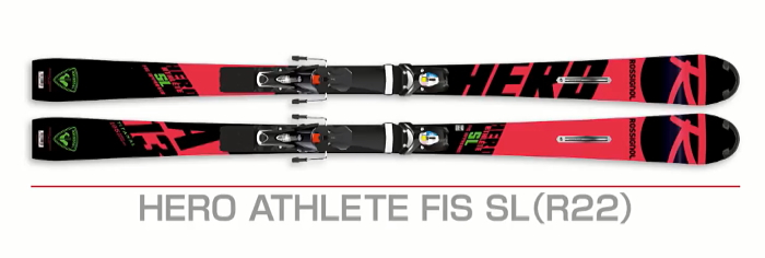 ROSSIGNOL HERO ATHLETE FIS SL (R22)/LOOK SPX 15 RKF - 2019