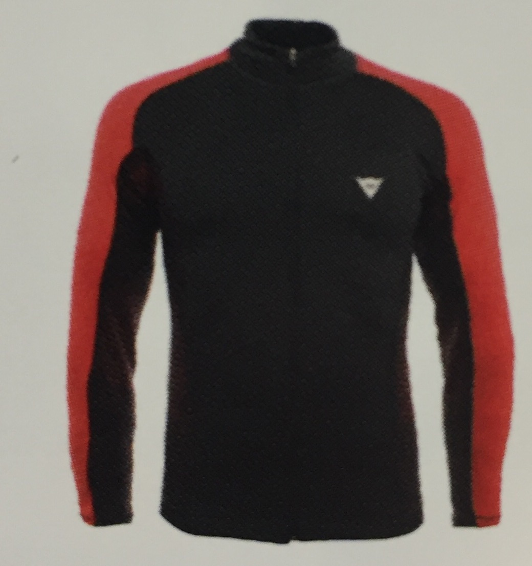 DAINESE HP1 MID FULL ZIP MAN Y60 STRETCH LIMO/HIGH RISK R - 2018