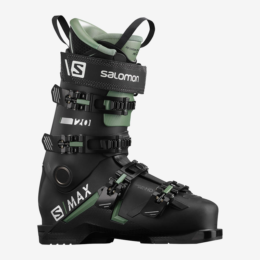 SALOMON MAX 120 bk /oil green.silver - 2021