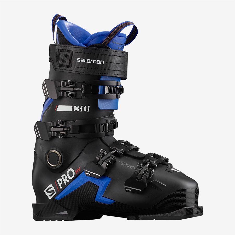 SALOMON S/PRO HV 130 black race blue red - 2021